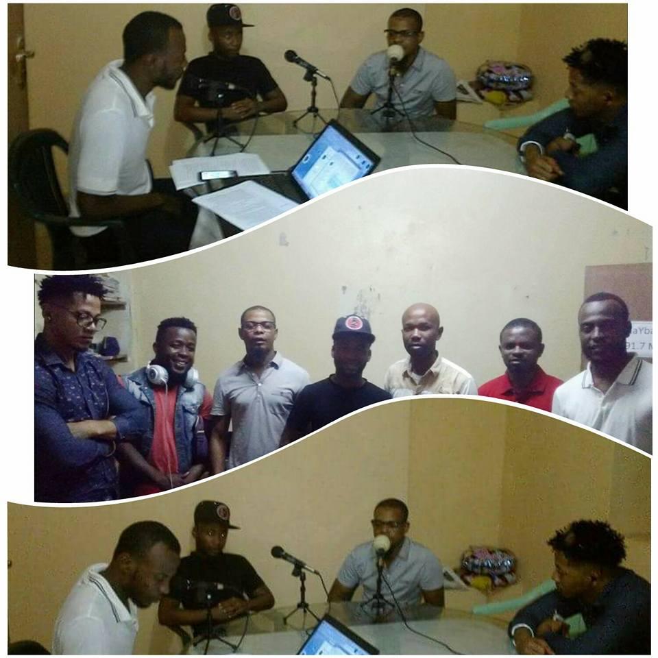 Youssouf Abdoul-Madjid sur les plateaux de votre station préferée HaYba FM 91.7