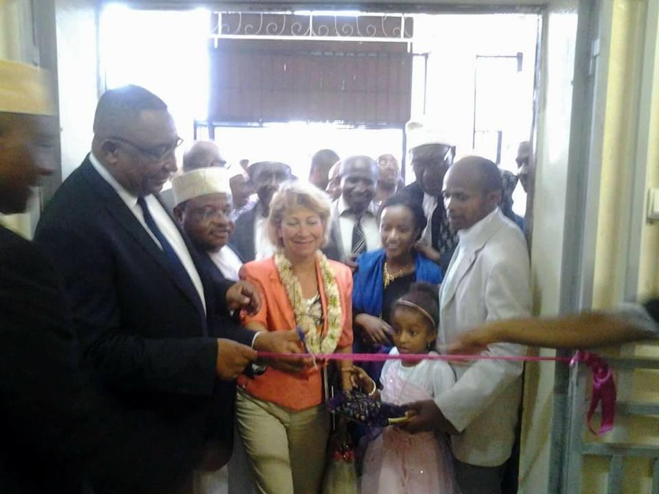 Inauguration de l'équipement solaire du centre culturel CASM