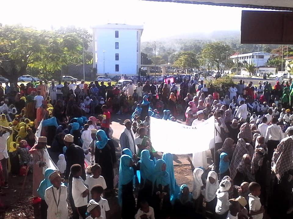 Célébration du Muharam, 1er jour de l'année musulmane 1440 à la Place de l'Indépendance à Moroni.