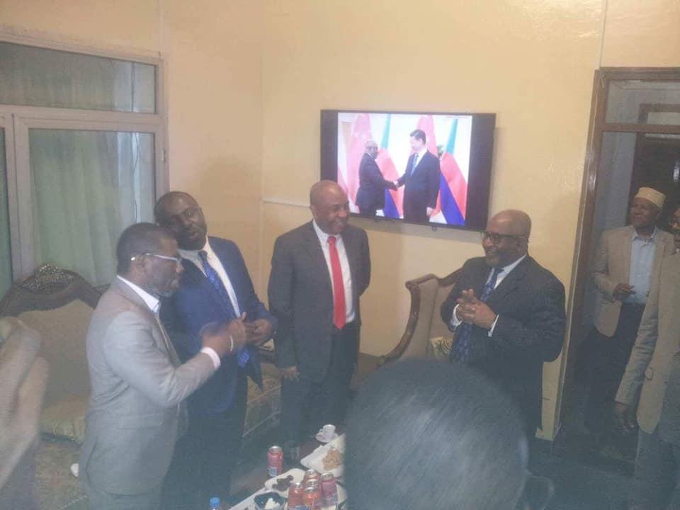 En ce moment à Beit-Salam : avec les gouverneurs