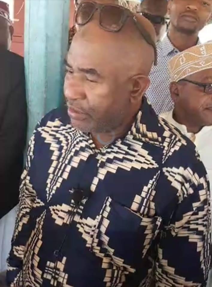Le président Azali est allé constaté de visu la «liberation» de Mutsamudu