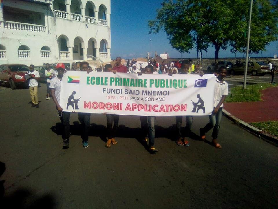 Une marche des enfants pour demander le respect des droits des enfants