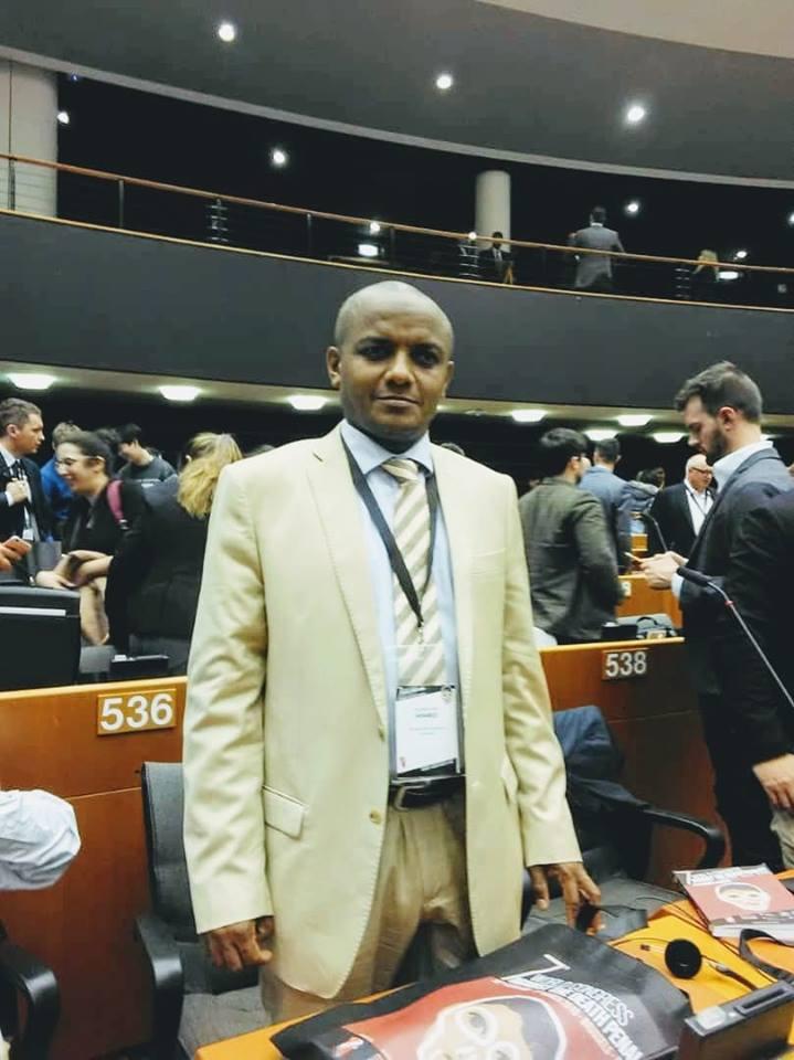 Me Ahamed Ali Abdallah au Congrès Mondial contre la Peine de Mort Rapport du 1er jour