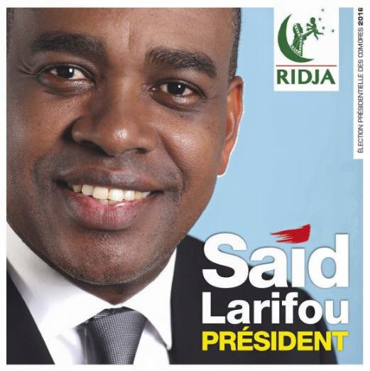 Communiqué de presse de Said Larifou