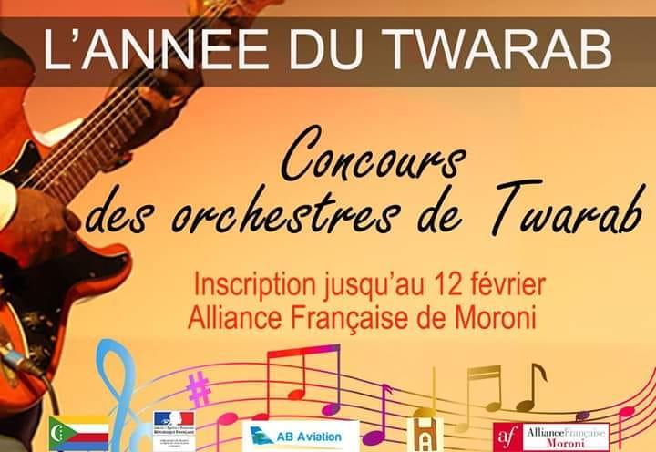 Le Twarab à l'honneur dans le programme 2019 de l'alliance française de Moroni.