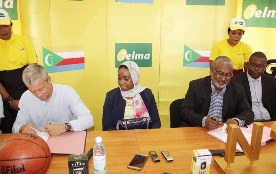 Telma Comores devient sponsor officiel de la Fédération comorienne de Basketball (FCBB)