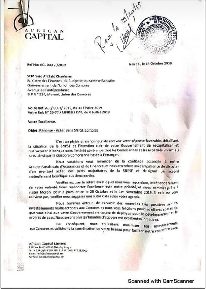 Le Ministère des Finances dénonce la suffisance de HaYba.