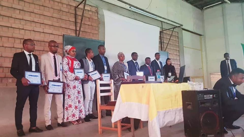 Discours d'Ouverture  Par le Président Abdouraouf Hamidou du  Rassemblement des Étudiants Comoriens en Médecine à Antananarive (RECMA)  le Dimanche 05/01/2019 dans la salle de la faculté des sciences  Ankatso.