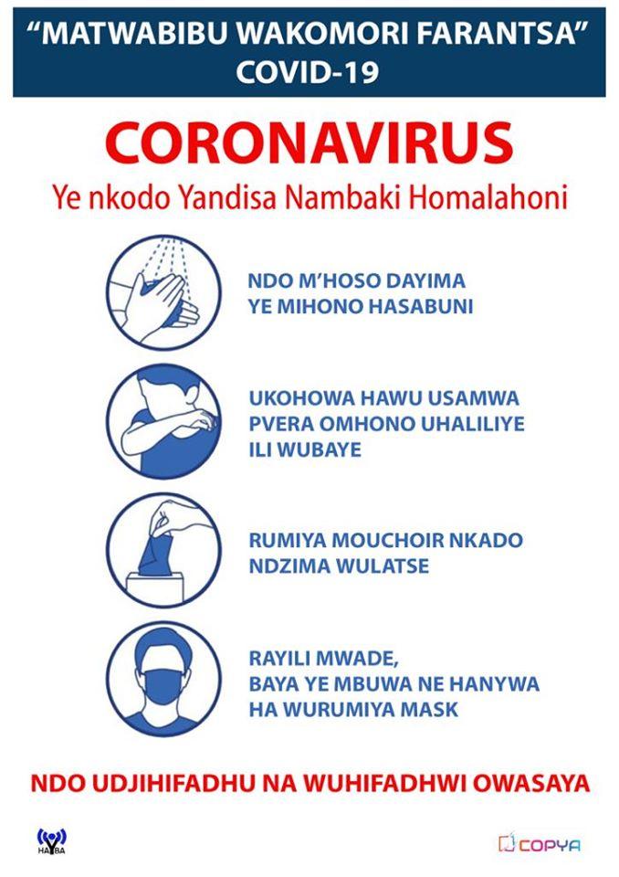HAYBA Fm : CORONAVIRUS