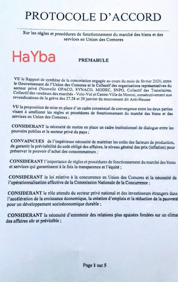 HaYba ÉCONOMIE & POLITIQUE