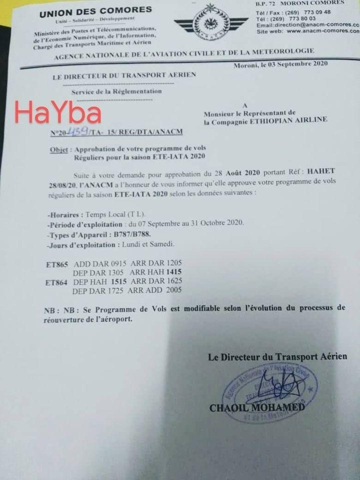 HaYba TRANSPORTS AERIENS