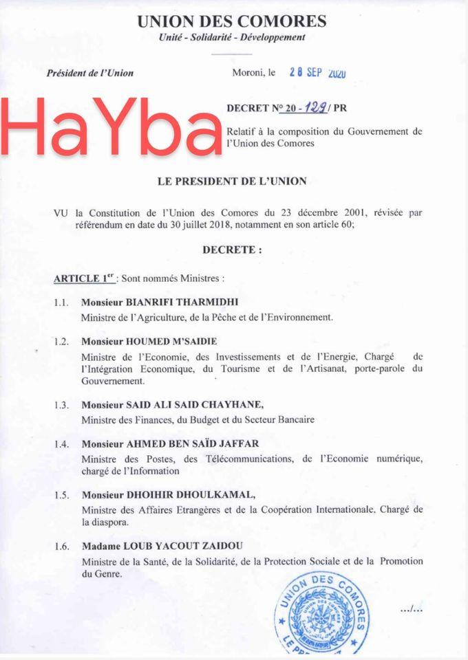 HaYba POLITIQUE