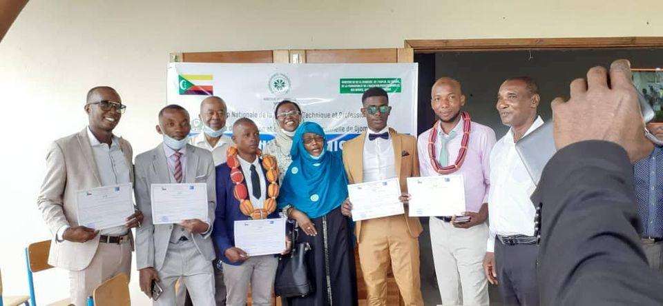 HaYba EDUCATION  Formation Professionnelle : Remise de diplôme au CFIP de Djomani Mbude.