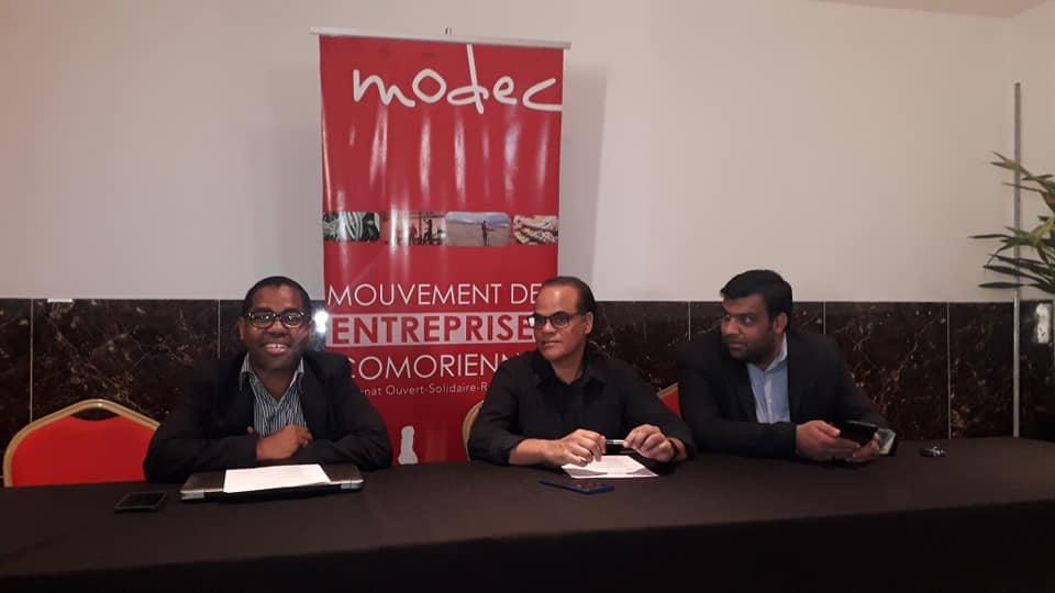 Le Mouvement Des Entreprises Comorienne (MODEC),  En Opération Reconquête.