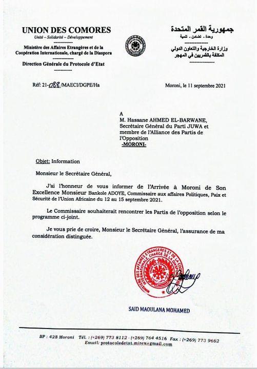 HaYba POLITIQUE/DIALOGUE NATIONAL